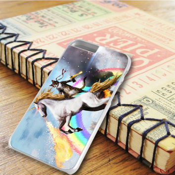 Cat Riding Unicorn iPhone 6 Plus | iPhone 6S Plus Case