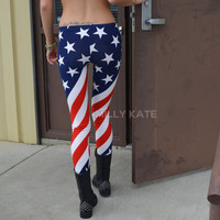 USA Flag Pants from Milly Kate