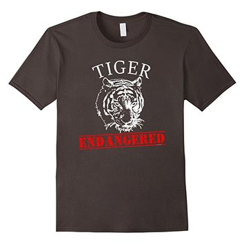 Tiger ENDANGERED T-shirt by Scarebaby