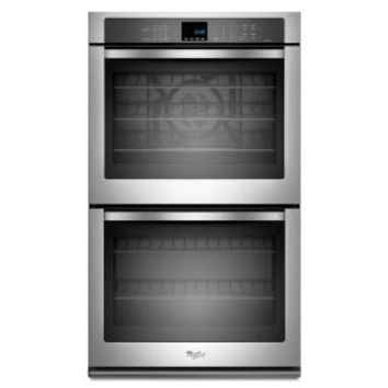 Whirlpool, Gold 30 in. Double Electric Wall Oven Self-Cleaning with Convection in Stainless Steel, WOD93EC0AS at The Home Depot - Mobile