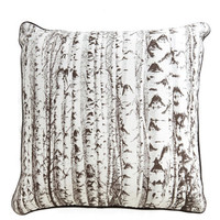 ModCloth Rustic Woods You Like to Snuggle? Pillow