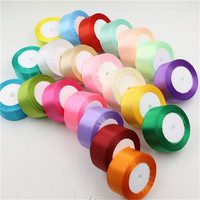silk satin ribbon 40mm 22 Meters wedding party festive event decoration crafts gifts wrapping apparel sewing fabric supplies