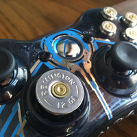 Xbox Halo 4  controller 9mm bullet button 12 guage shotgun shell dpad Controller Video Game gun  video games call of duty gears of war