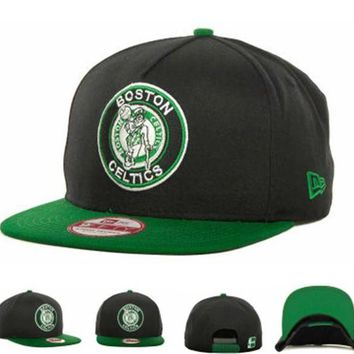 ONETOW Boston Celtics Nba Cap Snapback Hat - Ready Stock