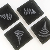 Glass Coasters - Woodland Decor