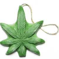 Northern Lights Dope on a Rope - Eucalyptus & Peppermint Pot Leaf Soap