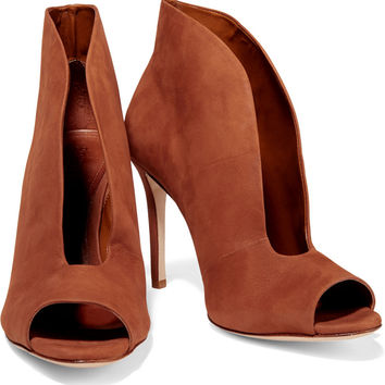 Schutz Noire nubuck ankle boots – 50% at from THE OUTNET | Belts,