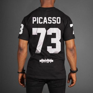 ca spbest JAY-Z PICASSO 73 BABY MAGNA CARTA TOUR T-SHIRT