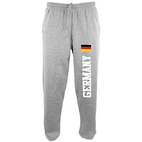 Oktoberfest Germany Flag World Cup Mens Sweatpants