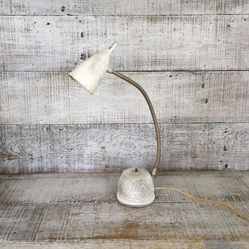 Lamp Vintage Desk Lamp Mid Century Gooseneck Lamp Vintage Task Light Lamp Vintage Industrial Lamp Table Lamp Adjustable Lamp Student Lamp