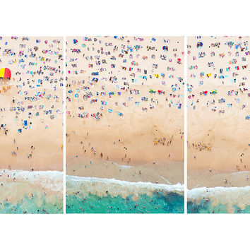 Gray Malin, Coogee Beach Triptych, Photographs