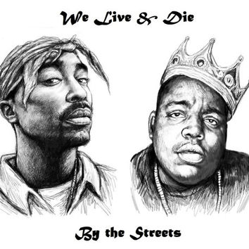 Tupac & Biggie Tribute Tee