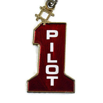 Number 1 Pilot Keychain No 1 Key chain Driver Keyring Pilot Charm Race Car Racer New Driver New Car New License Dad Father Gift Llavero