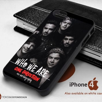 Our Autobiography One Direction Case for iPhone 4/4S, iPhone 5/5S, iPhone 6, iPod 4, iPod 5, Samsung Galaxy Note 3, Galaxy Note 4, Galaxy S3, Galaxy S4, Galaxy S5, Galaxy S6, Phone Case