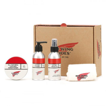 Red Wing Oil-Tanned Leather Care Kit