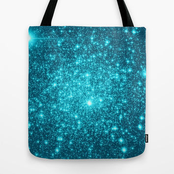 Turquoise Tote Bag by WhimsyRomance&Fun