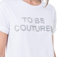 Jewel To Be Coutured Tee