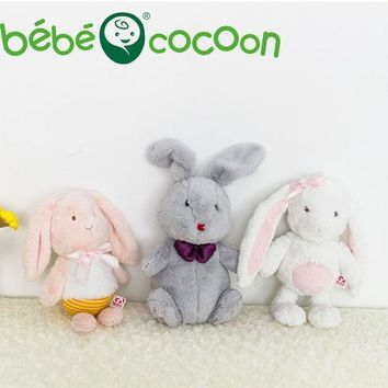 PEAPJ Bebecocoon 2017 Fullfy Bunny Animal Soft Plush Toys Sleeping Mate Stuffed & Plush Animals 32cm/36cm Kids Toys For Girls Gifts