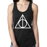 Harry potter Ladies  Racerback Tank Top