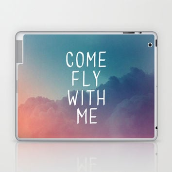 Come Fly With Me Laptop & iPad Skin by Galaxy Eyes