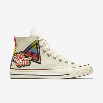 The Converse Chuck Taylor All Star '70 1st Pride Parade High Top Unisex Shoe.