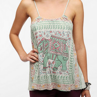 Title Unknown Elephant Trapeze Tank Top