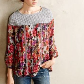 Theodosia Blouse by Weston Wear Pink