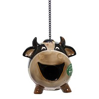 Home & Garden Cow Birdhouse Bird House