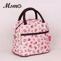 2016 New Hot Variety Pattern Lunch Bag Lunchbox Women Handbag Waterproof Picnic Bag Lunchbox For Kids Adult 22 colors
