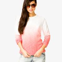 Ombré Marled Sweater
