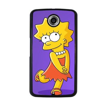 lisa simpsons nexus 6 case cover  number 1