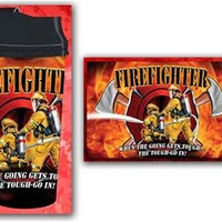 Firefighter The Tough Go In Thermal Travel Mug