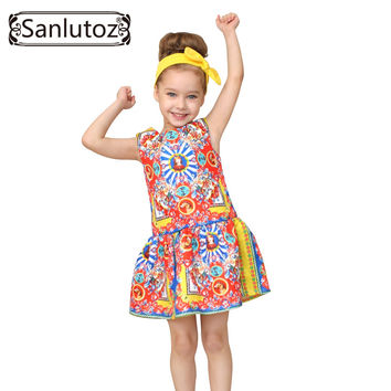 Girls Clothes Brand Girls Dress Princess Party Kids Children Clothing Toddler  Kids Fun