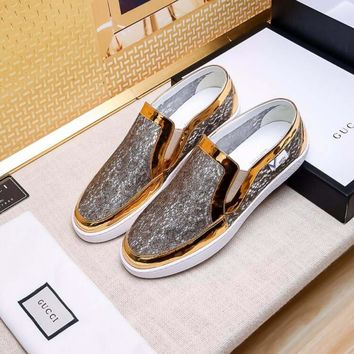 Gucci Fashion Casual Sneakers Sport Shoes-38