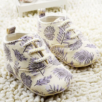 Bay Leaf Baby Sneakers