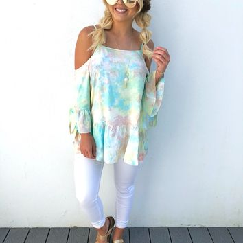 Feel The Breeze Blouse: Multi