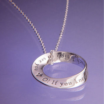 O! I Sigh To See You Sterling Silver