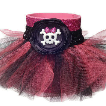 Tutu Glitter Koozie in Pink and Black with by AffordableAdorableKC