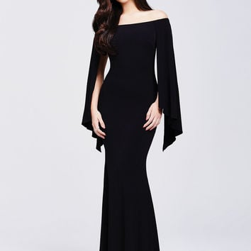 Stunning Off Shoulder Fitting Dress 21799A