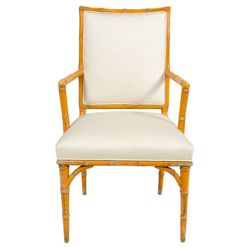 1940s Faux-Bamboo  Chair