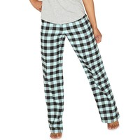 SO Pajamas: Varsity Flannel Lounge Pants