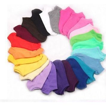 Women's Socks Short Thin Ankle Cotton Socks 10 Pair