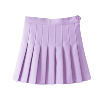 Best Deal 2015 Good Quality Fashion Skirt Beautiful Woman Of High Quality Women High Waist Pleated Mini Tennis Skirt 1pc