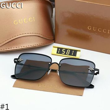 GUCCI new trend of small bees logo personality stylish sunglasses F-A-SDYJ #1