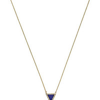 Michael Kors Triangle Delicate Pendant Necklace - Gold