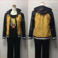 Yuri!!! on Ice Cosplay Costumes Yuri Plisetsky Daily Clothes Fancy Hoodies Jacket Sportswear Leopard Outifts Dropshipping