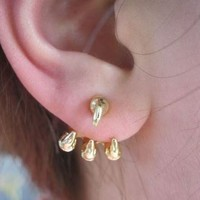 Eagle's Claw Wrapping Ear Cuffs - LilyFair Jewelry