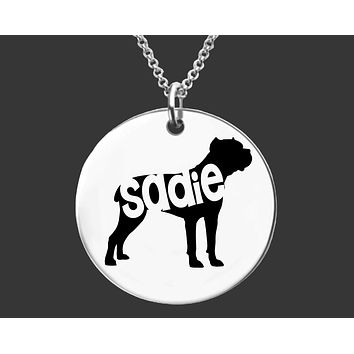 Cane Corso Necklace |Personalized Dog Necklace