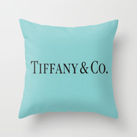 T&C Throw Pillow by LuxuryLivingNYC