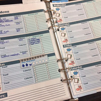 Weekly Meal Tracker